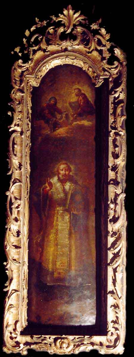 Икона свят. архиеп. Николая Мирликийского