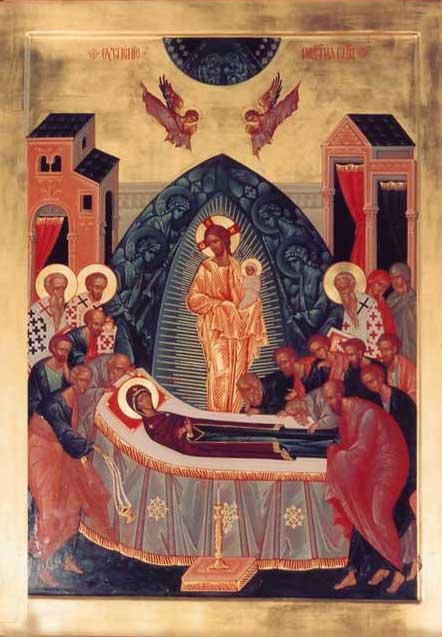 Икона Успения Божией Матери