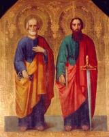 Икона св. апп. Петра и Павла