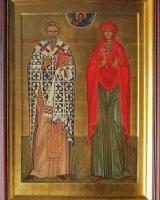 Святые мученики Киприан и Иустинья