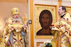 Фотоотчет о престольном празднике  в храме Трех Святителей 12 февраля 2013 года