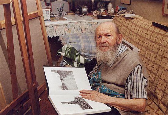 Протоиерей Герасим Иванов в мастерской