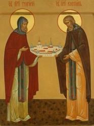 Преподобномученики Григорий и Кассиан Авнежские