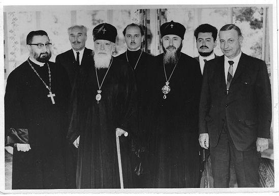С Патриархом Алексием I
