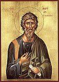 Святой апостол Андрей Первозванный. <br> 13 декабря Престольный праздник в Андреевском соборе.