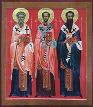 Престольный праздник церкви Трех Святителей