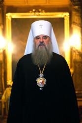 Митрополит Варсонофий совершил Всенощное бдение в Андреевском соборе