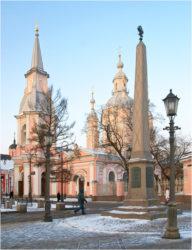 Престольный праздник в Андреевском соборе