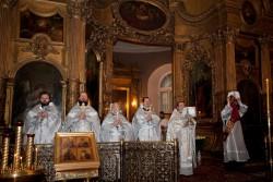 День Архистратига Божия Михаила в Андреевском соборе.