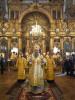 Митрополит Варсонофий совершил Божественную литургию в Андреевском соборе